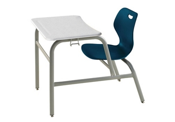 Chair Desk with Hard Plastic Top, 51611