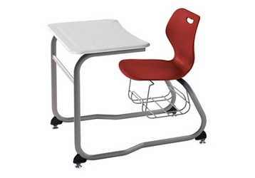 Double Entry Desk with Bookrack, 51614