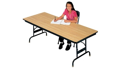 "30"" x 72"" Adjustable Height Folding Table, 46603"