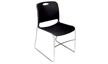 Poly Stack Chair with Glides, 57170