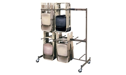 Two Tier Folding Chair Caddy, 92192