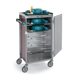 "18""W Compact Tray Delivery Cart, 25298"