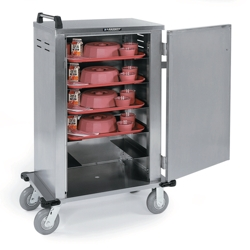 Stainless Steel 6 Tray Delivery Room Service Cart, 25302