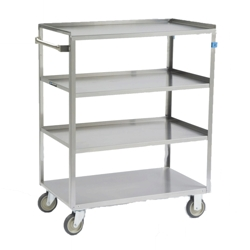 "52""W 500lb Weight Capacity Linen Cart, 25563"