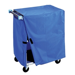 "Cart Cover for 52""W 500lb Weight Capacity Linen Cart, 25566"