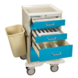 5 Drawer Mini Cart with Key Lock, 25570