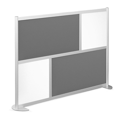 "76""W x 53""H Low Panel Wall Partition, 20104"
