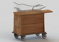 """Two Drawer Bassinet - 34""""W, 26629"""