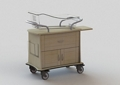 """One Drawer and Two Door Bassinet - 34""""W, 26636"""