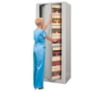 Fully Assembled Seven-Tier Letter Size Rotary Cabinet - Add-On Unit, 36746