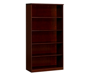 Wood Veneer 5 Shelf Bookcase, 32632