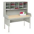 Single Tier Mail Sorter Station, 36169