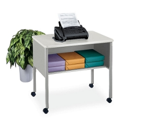 Mobile Printer Stand with Shelf, 42064