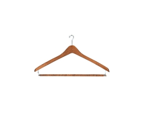 Set of Six Wood Hangers, 90144