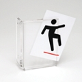 """Wall Mounted Sign Holder - 4""""W x 4""""H, 91907"""