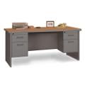 """Double Pedestal Desk - 66"""" x 30"""", 11953"""