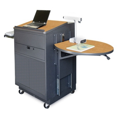 Mobile Presentation Cart With Lectern, 43191