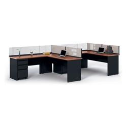 "Individual Corner Workstation - 72""W x 72""D, 21398"