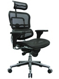 High Back Mesh Chair with Headrest, 56507