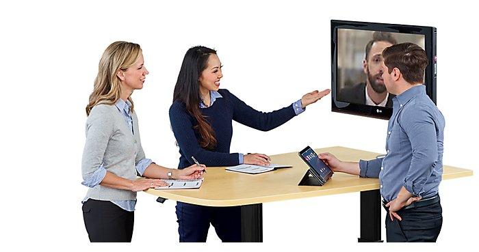 Exclusive Media Tables for Teleconferencing