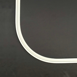 Curtain Track with 90 Degree Bend - 2.5 ft, 86545