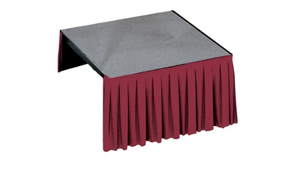 "Carpet Platform- 96""Wx48""Dx40""H, 80054"