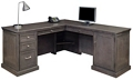 Statesman L-Desk with Right Return, 13168
