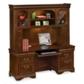 Pont Lafayette Executive Credenza and Hutch Set, 13312