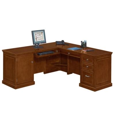Statesman Compact L Desk With Left Return, 13346