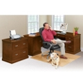 Statesman Compact Left L-Desk Office, 13458