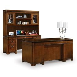 Kensington Desk Credenza and Hutch Set, 13507