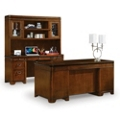 Kensington Desk Credenza and Hutch Set, 13507