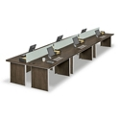 Metropolitan Six Desk Benching Set, 13837