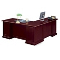 "Cumberland L-Desk with Left Return - 72""W, 13887"