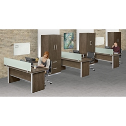 Metropolitan Three L-Desk Office Set, 13944