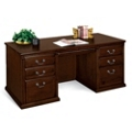 Huntington Cherry Double Pedestal Executive Desk, 15040