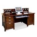 Cherry Computer Desk with Hutch, 15669