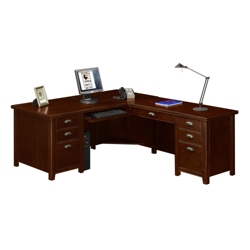 L-Desk with Right Return, 15761