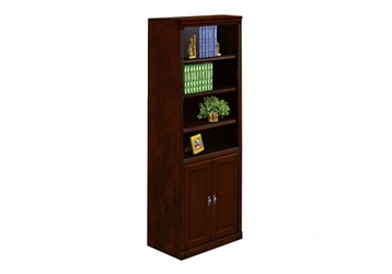 "Six Shelf Bookcase with Doors - 72""H, 32544"