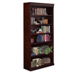 "Six Shelf Transitional Bookcase - 72""H, 32554"