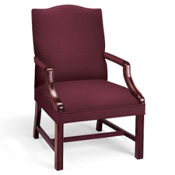 Vinyl Traditional Arm Chair, 55480