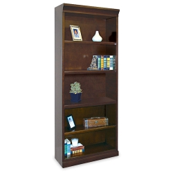 "72"" H Five Shelf Contemporary Bookcase, 15933"