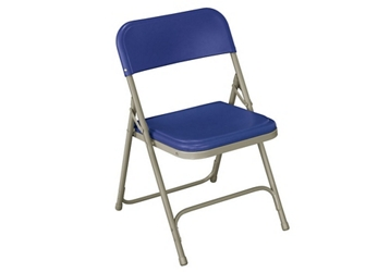 Folding Chair with U Braces and Double Rivets, 220051