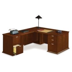 L-Desk with Left Return, 15869