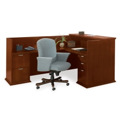 Reception L-Desk with Left Return, 15881