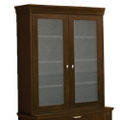 Two-Door Hutch with Glass Doors, 31645