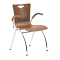 Stack Chair with Arms, 51060