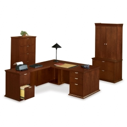 L-Desk with Left Return Set, 86131