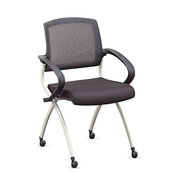 Nex Mesh Back Fabric Nesting Chair, 51052