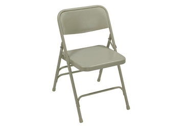 Triple Brace Steel Folding Chair, 51731